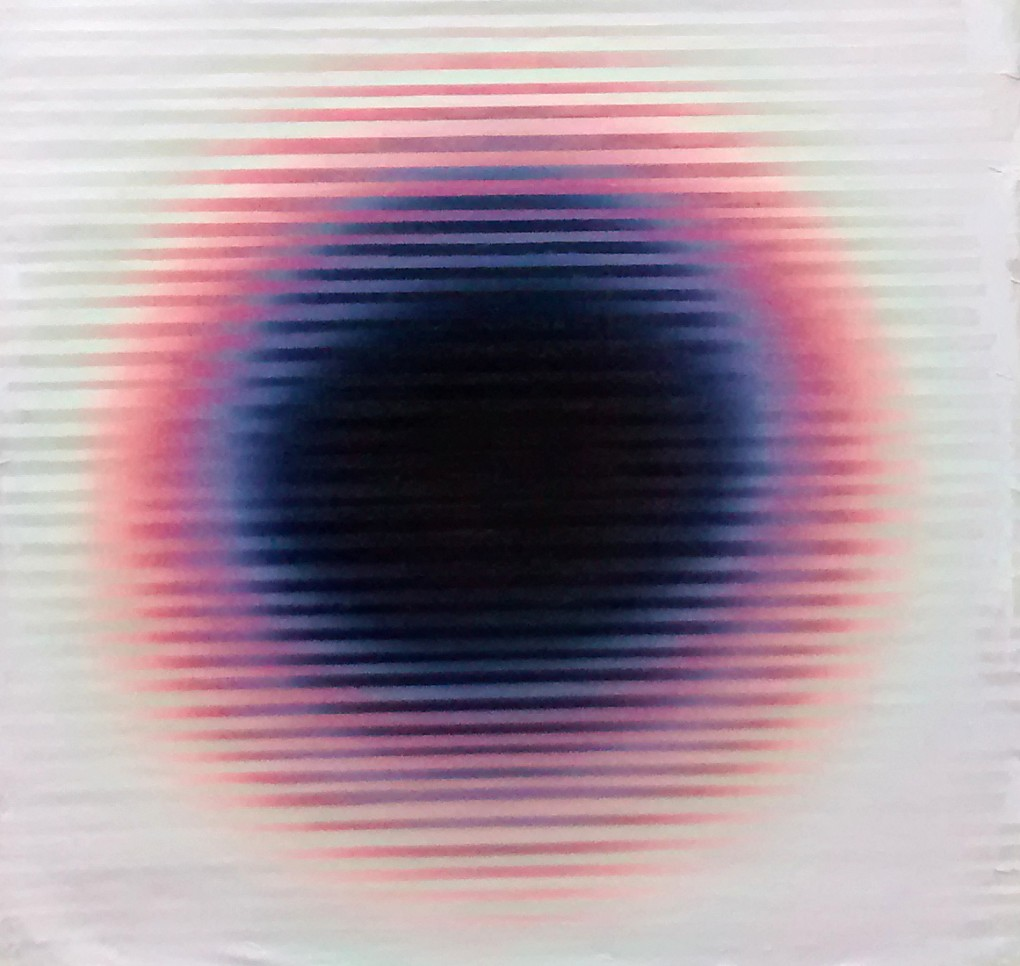 Emmeteur 10 (Sunglasses at night), 2017, Acrylique sur toile, 18 x 18
