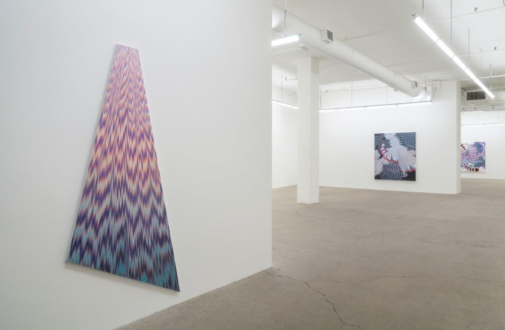 Vue d'intallation, 2018, Galerie René Blouin