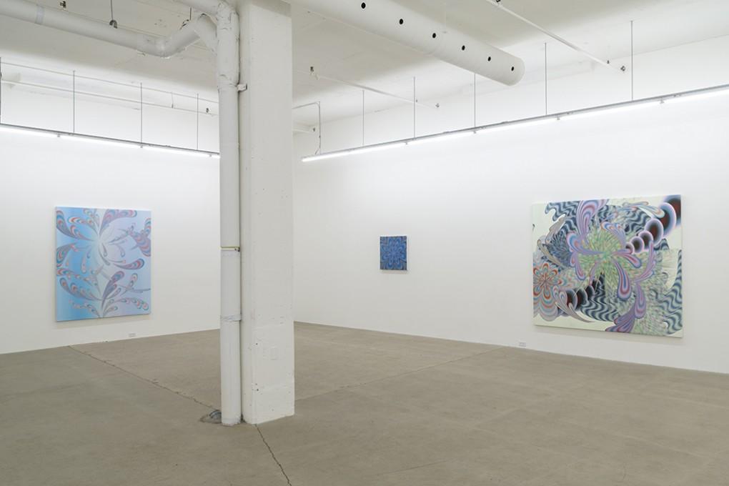 Vue d'intallation, Galerie René Blouin 2018